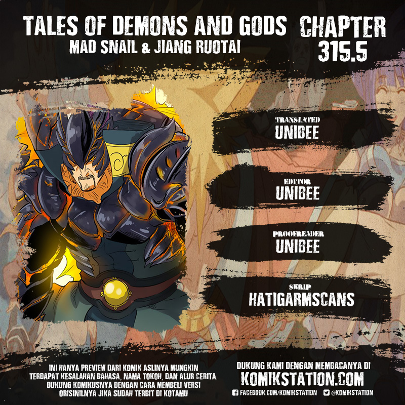 Tales Of Demons And Gods Chapter 315.5