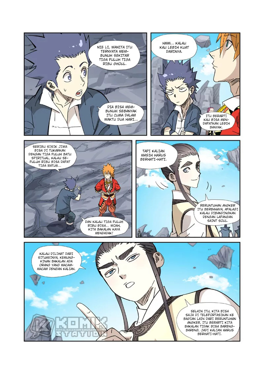 Tales Of Demons And Gods Chapter 324.5
