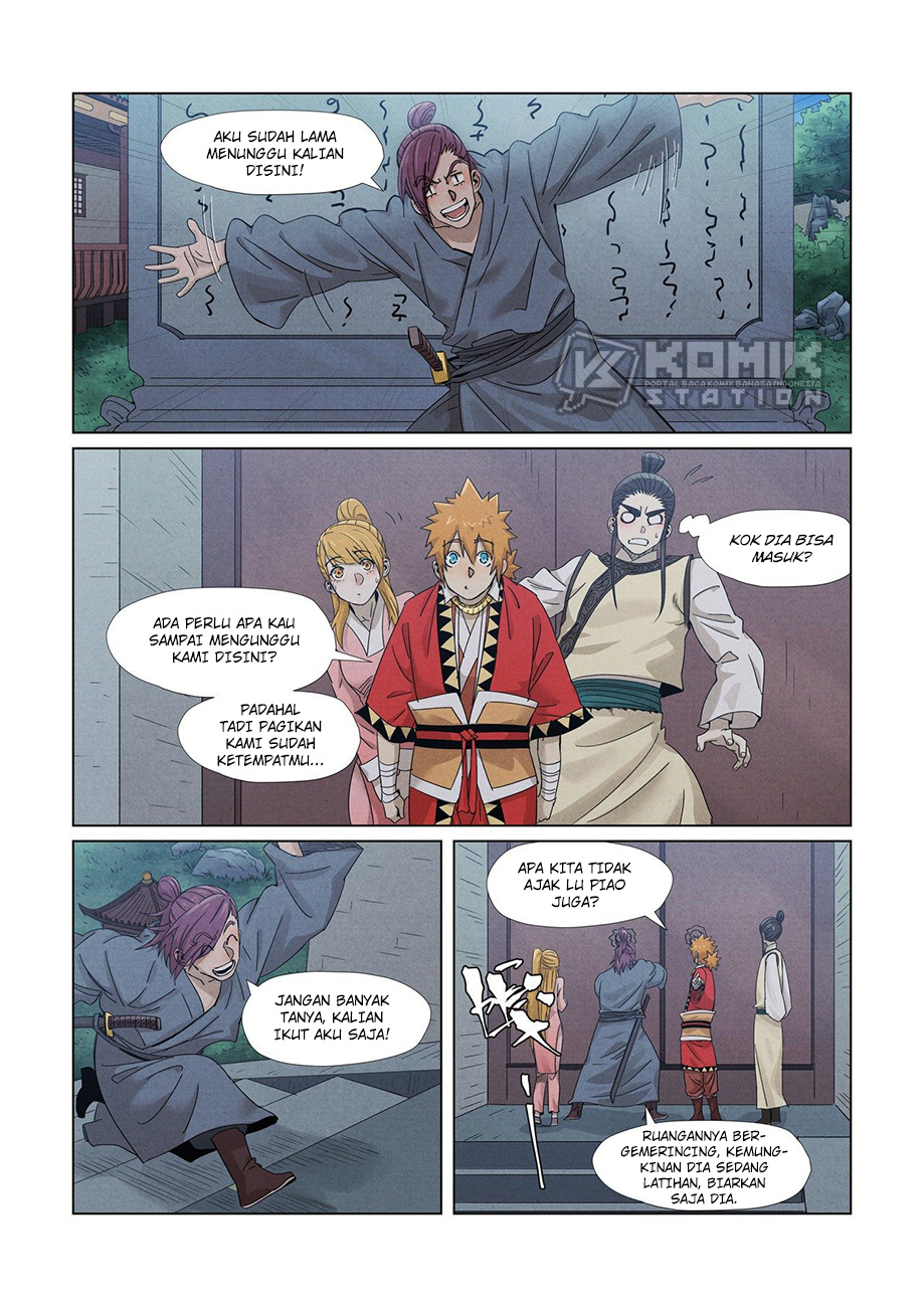 Tales Of Demons And Gods Chapter 348.5
