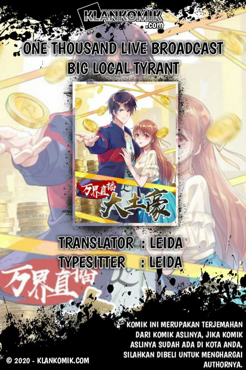 One Thousand Live Broadcast Big Local Tyrant Chapter 52