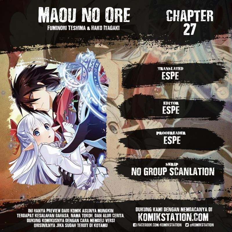 Maou No Ore Ga Dorei Elf Wo Yome Ni Shitanda Ga, Dou Medereba Ii? Chapter 27