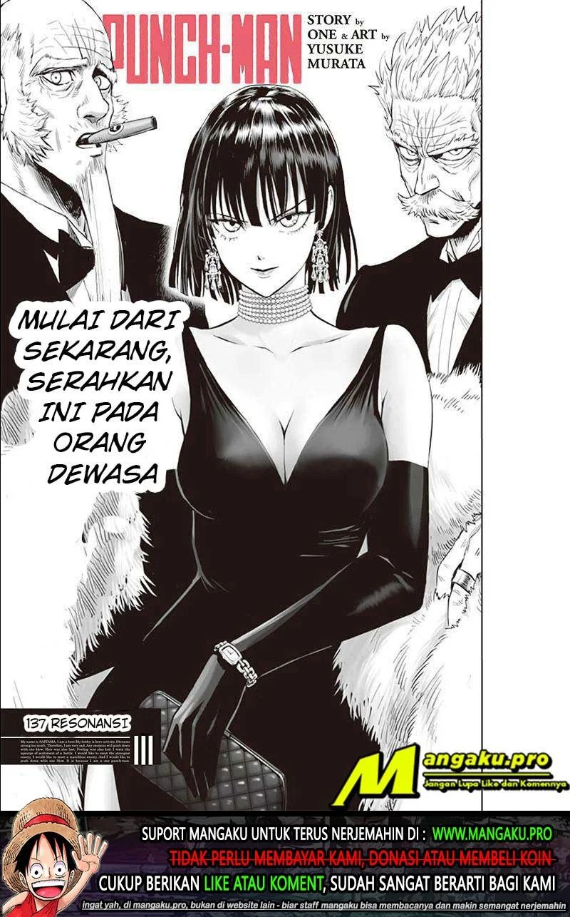 One Punch-man Chapter 137