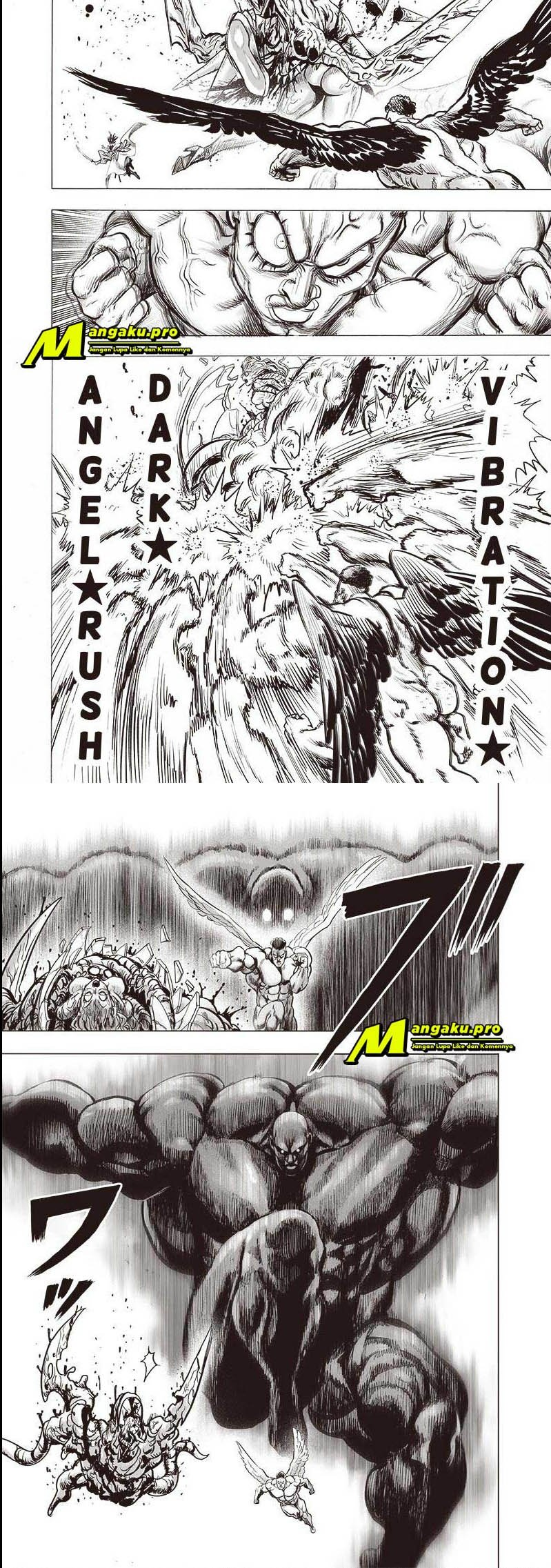 One Punch-man Chapter 138