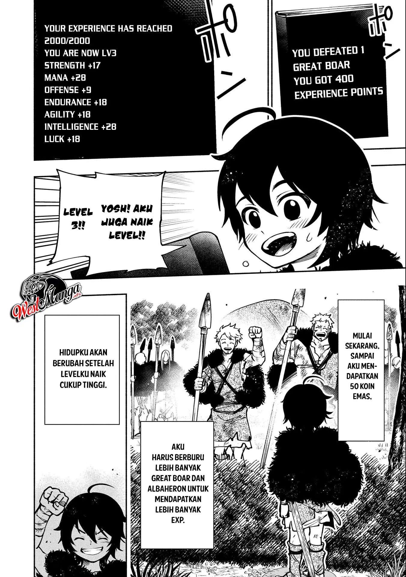 Hell Mode Yarikomi Suki No Gamer Wa Hai Settei No Isekai De Musou Suru Chapter 3