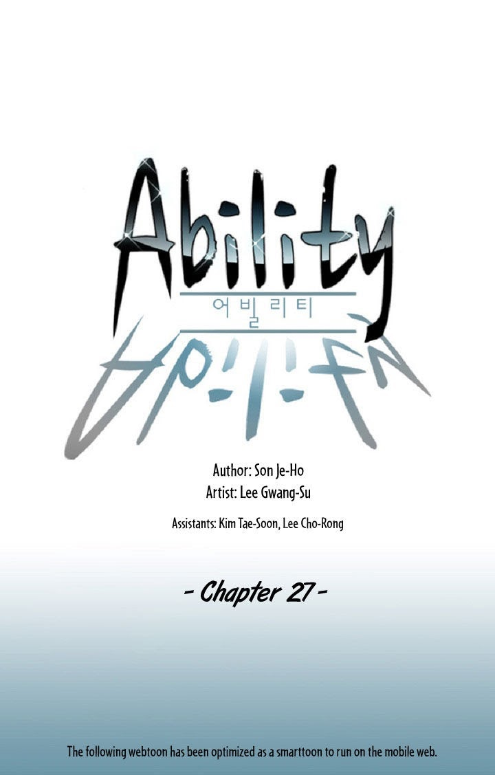 Ability Chapter 27