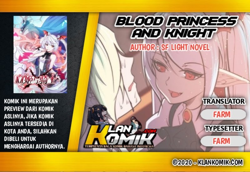 The Blood Princess And The Knight Chapter 0