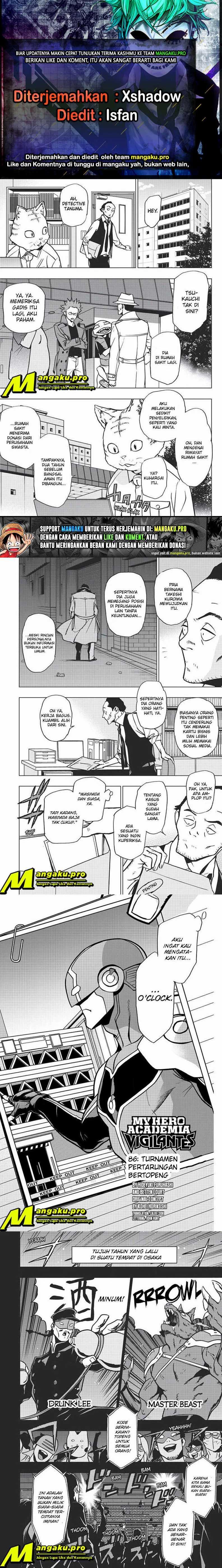 Vigilante Boku No Hero Academia Illegals Chapter 86