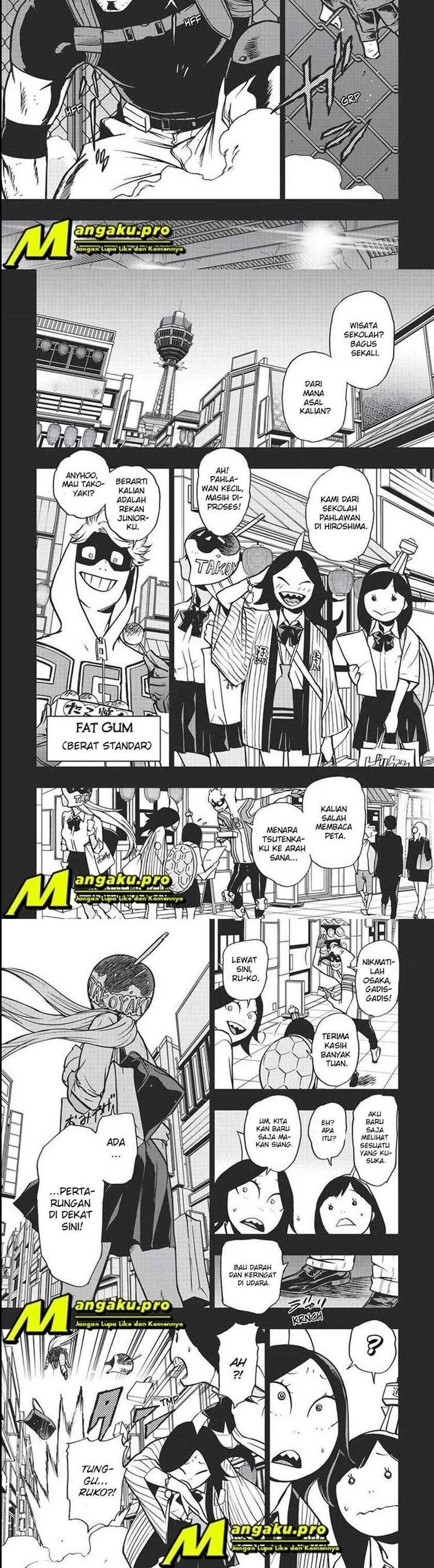 Vigilante Boku No Hero Academia Illegals Chapter 87