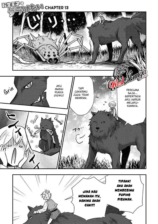 Tensei Ouji Wa Daraketai Chapter 13