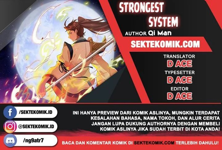 Strongest System Chapter 20