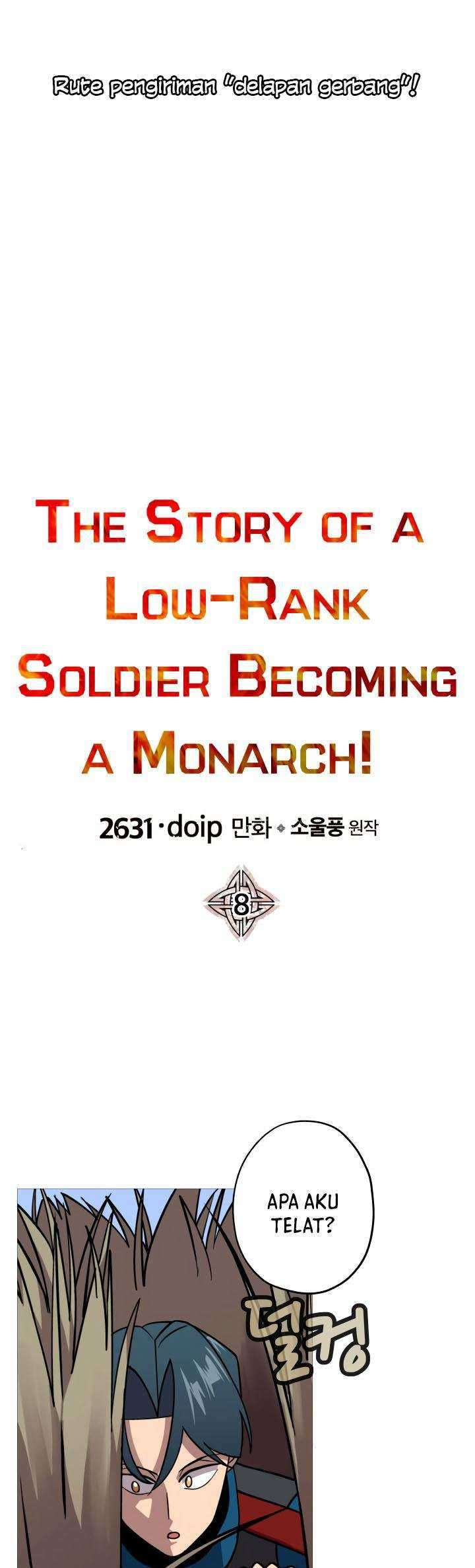 The Story Of A Low-rank Soldier Becoming A Monarch Chapter 8