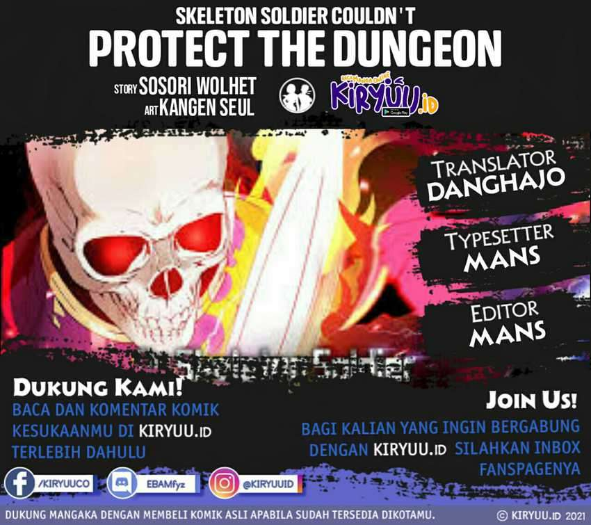 Skeleton Soldier Couldn't Protect The Dungeon Chapter 110