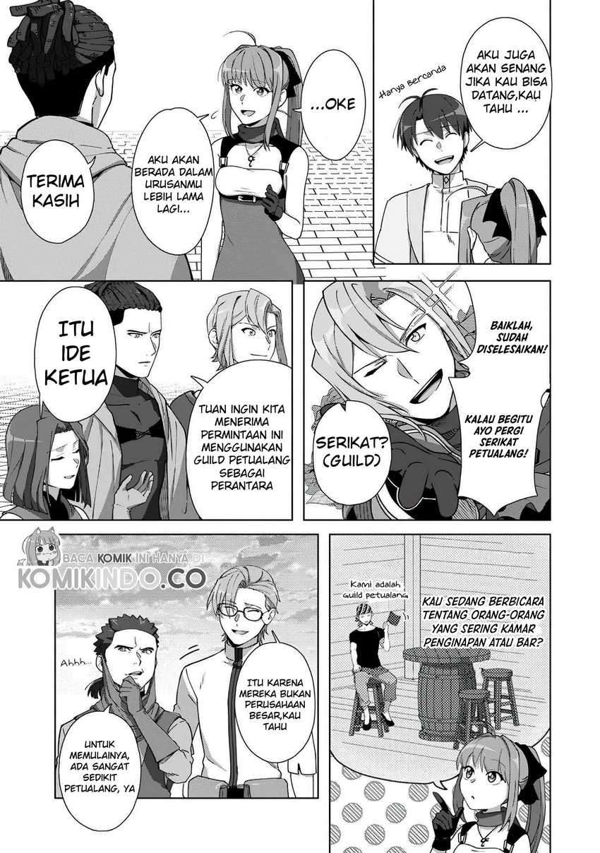 Tenshoku No Shinden Wo Hirakimashita Chapter 10