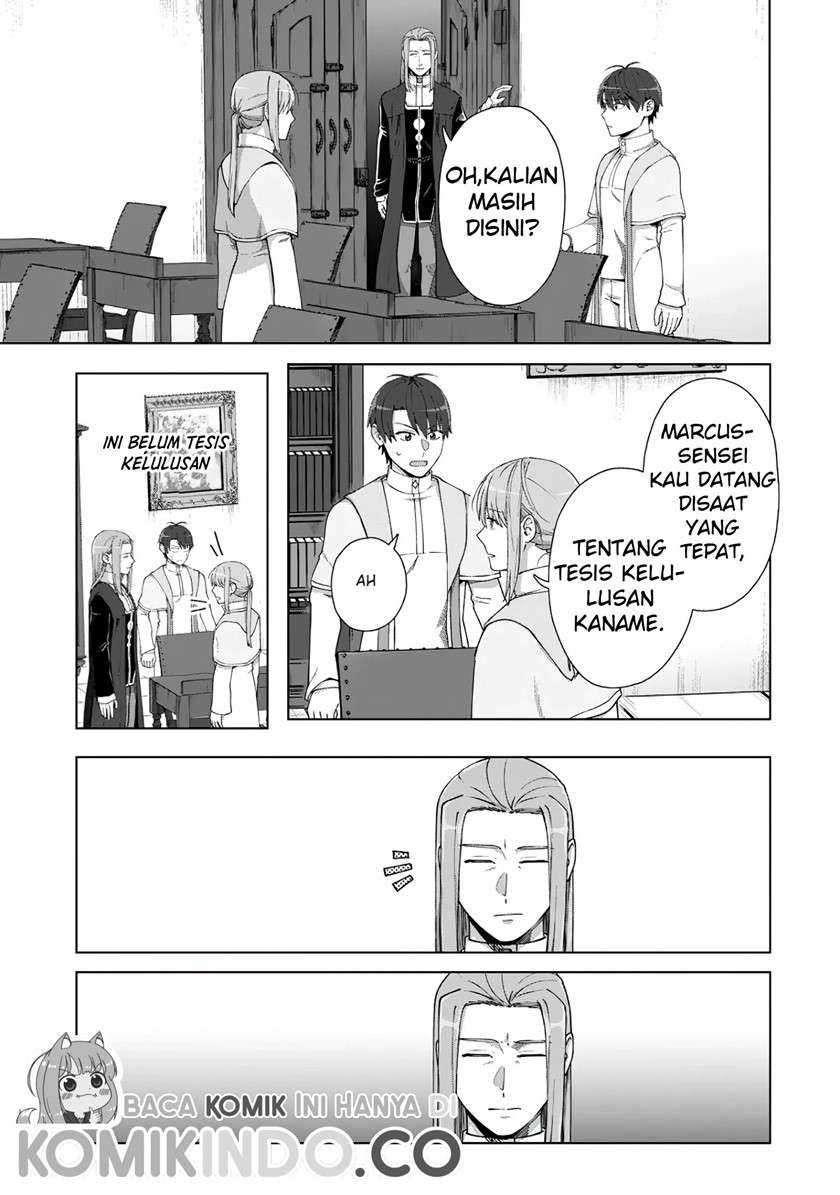 Tenshoku No Shinden Wo Hirakimashita Chapter 15
