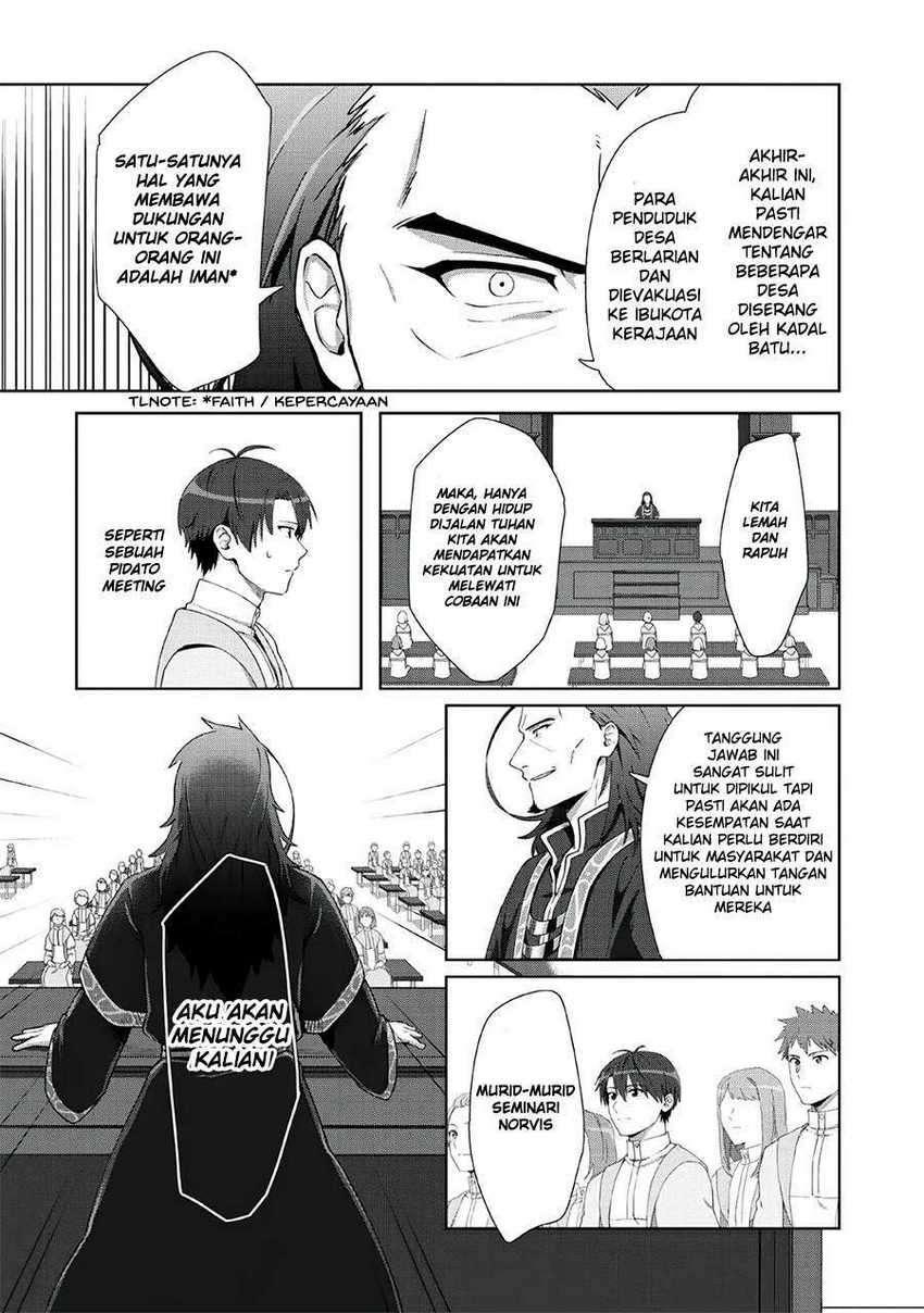 Tenshoku No Shinden Wo Hirakimashita Chapter 8