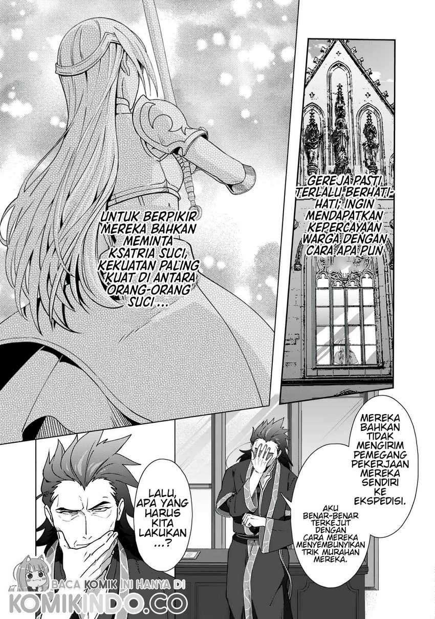Tenshoku No Shinden Wo Hirakimashita Chapter 9