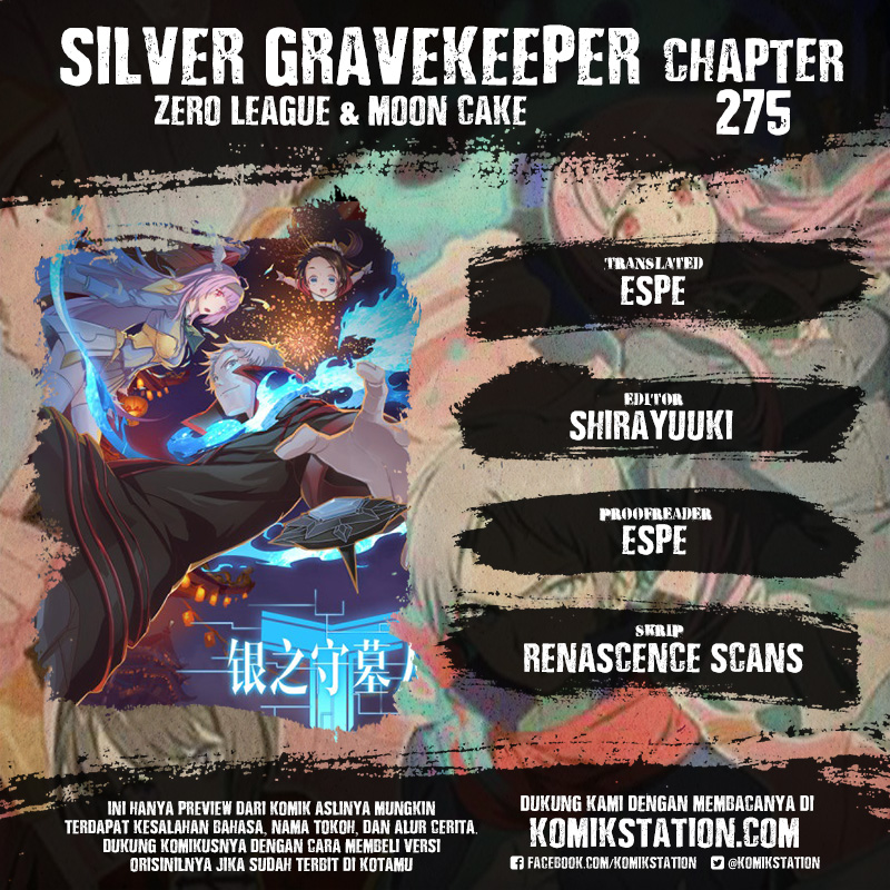 Silver Gravekeeper Chapter 275