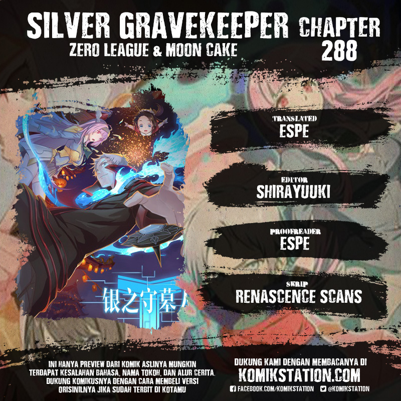 Silver Gravekeeper Chapter 288