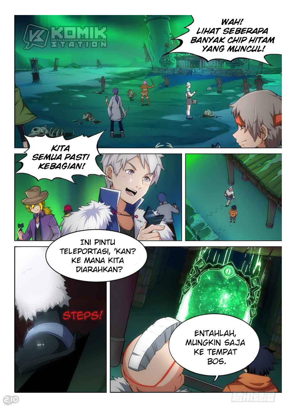 Silver Gravekeeper Chapter 290