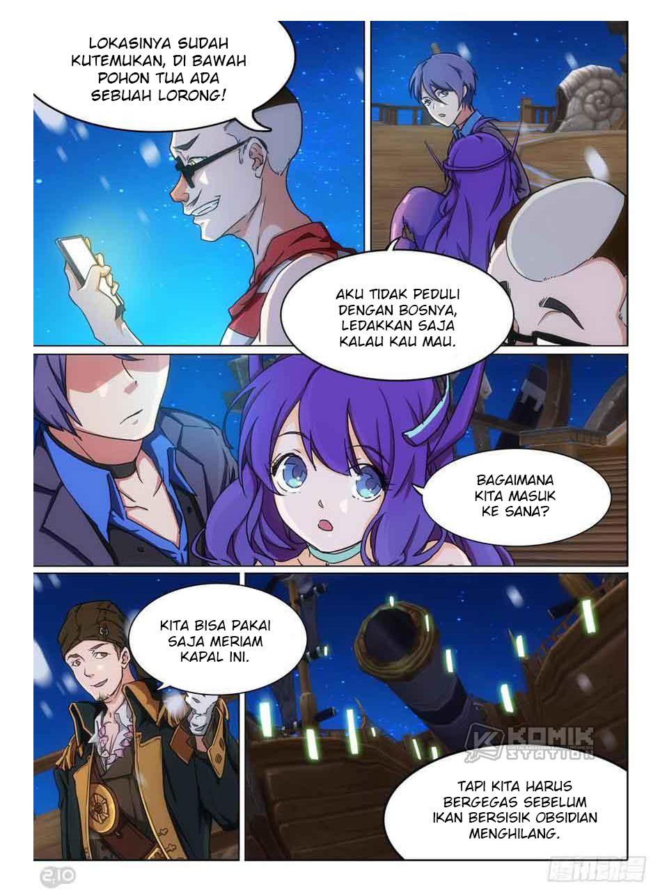 Silver Gravekeeper Chapter 301