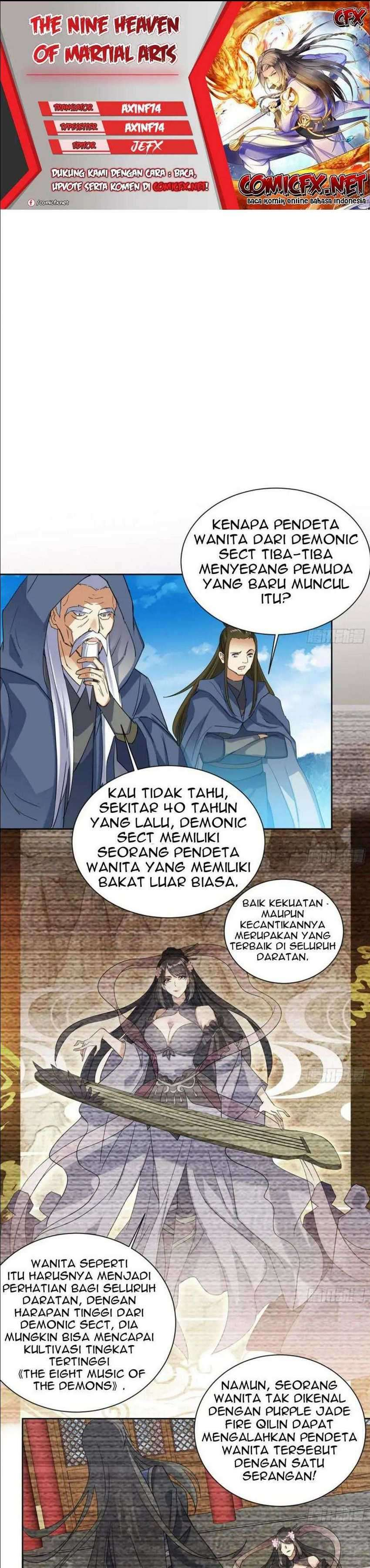 The Nine Heaven Of Martial Arts Chapter 186