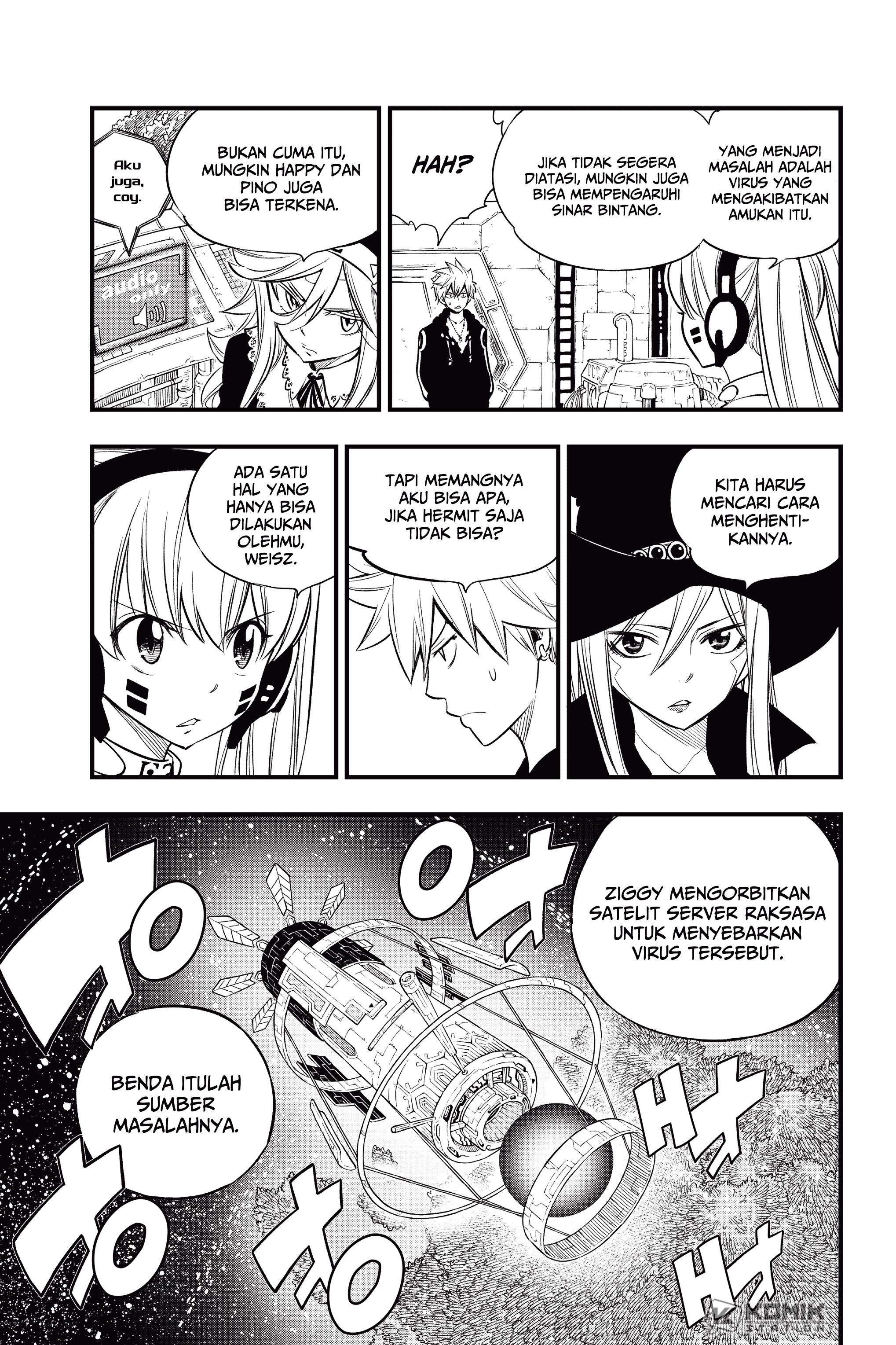 Eden's Zero Chapter 118