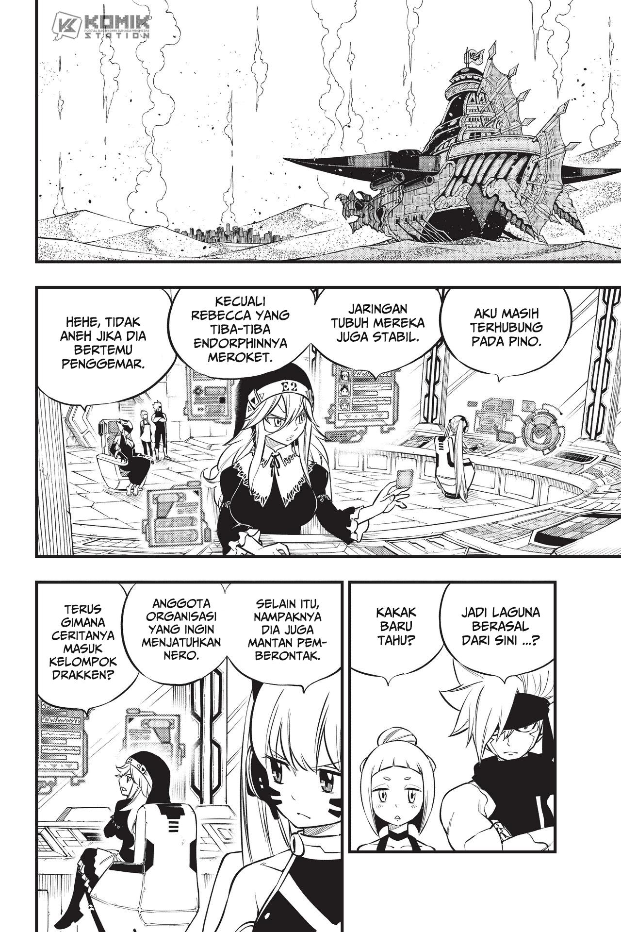 Eden's Zero Chapter 136