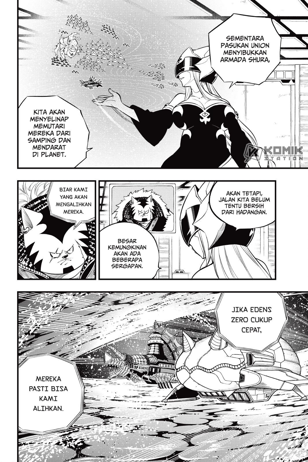Eden's Zero Chapter 140