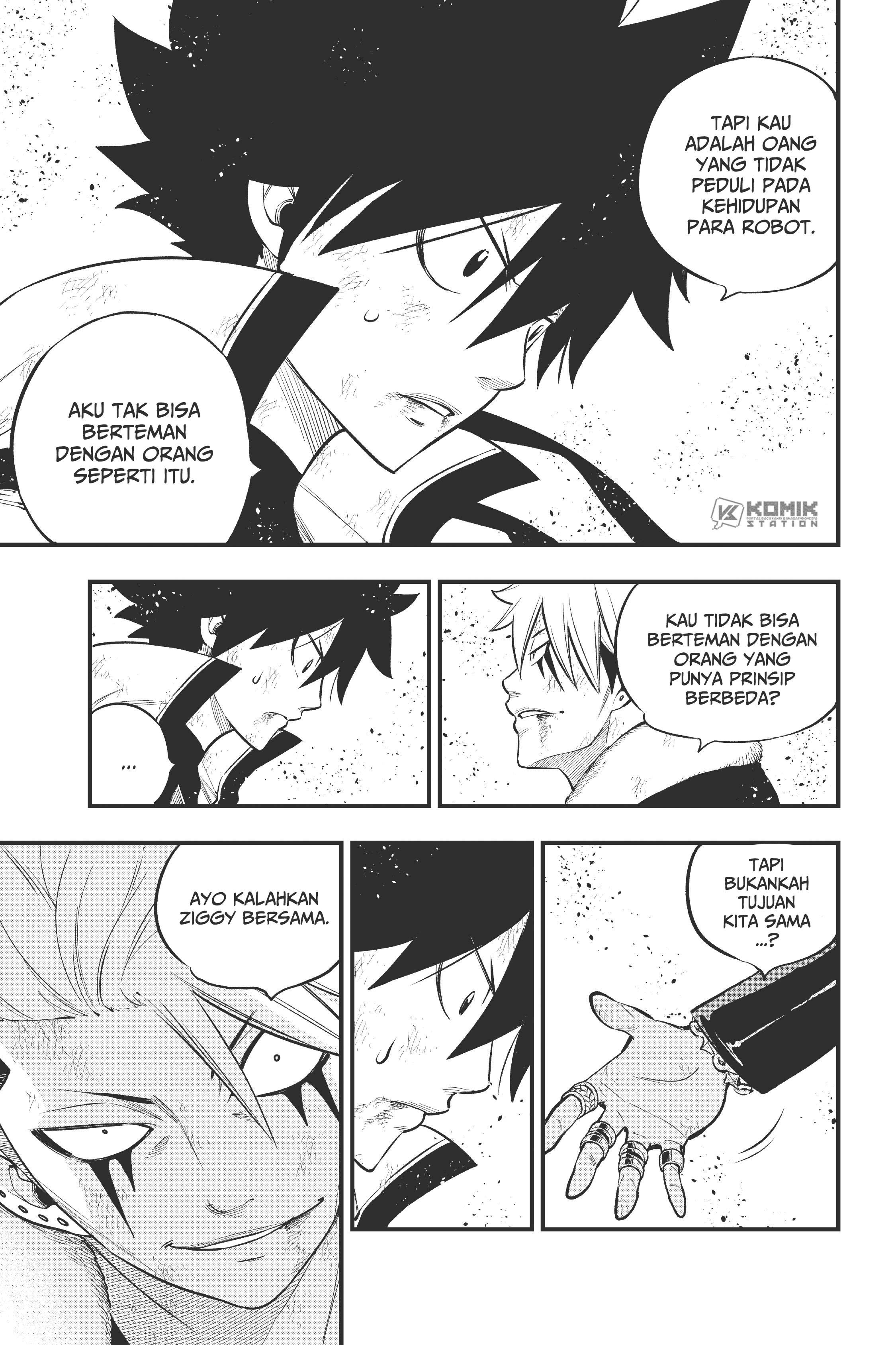 Eden's Zero Chapter 143