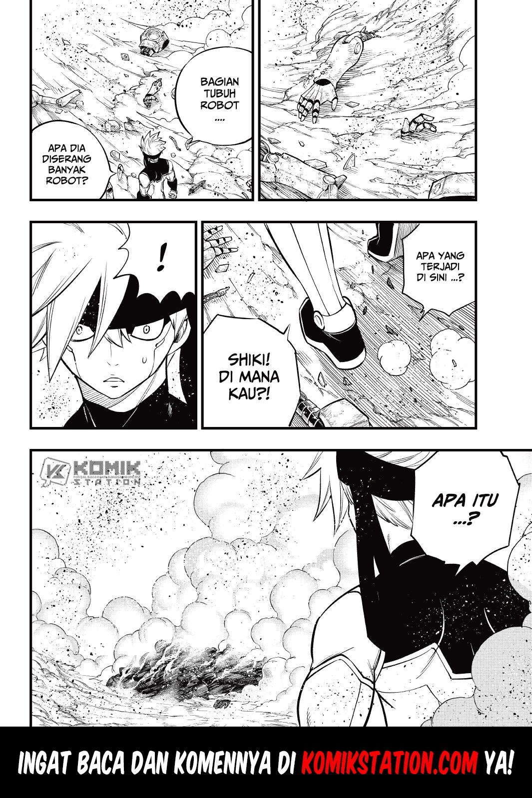 Eden's Zero Chapter 145