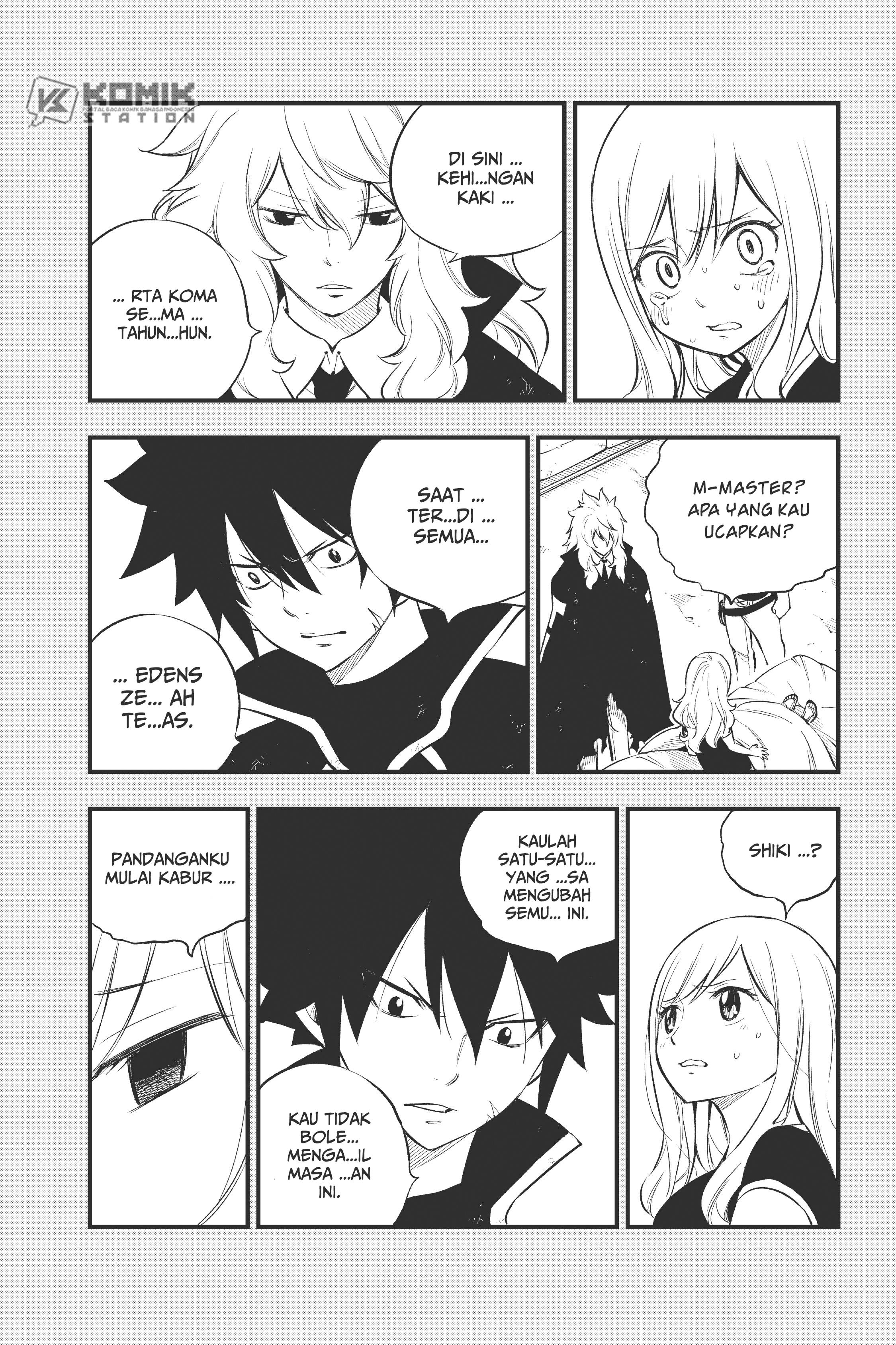 Eden's Zero Chapter 150