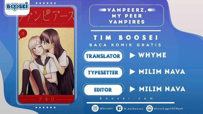 Vampeerz, My Peer Vampires Chapter 29