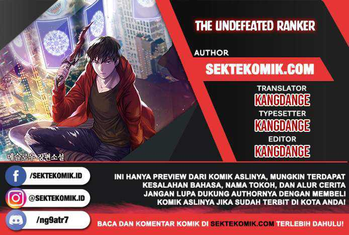 The Undefeated Ranker Chapter 3