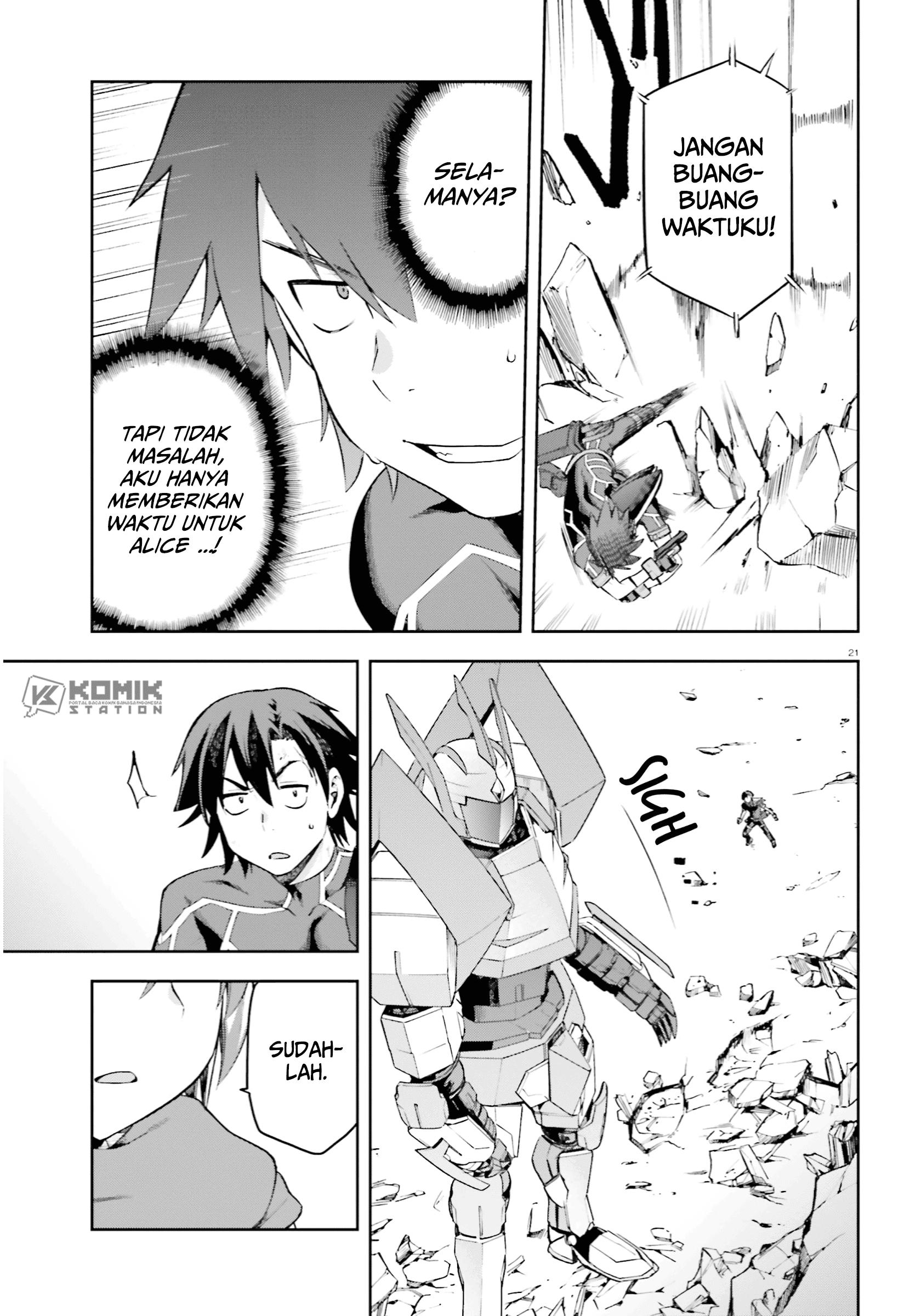 Sentouin, Hakenshimasu! Chapter 26