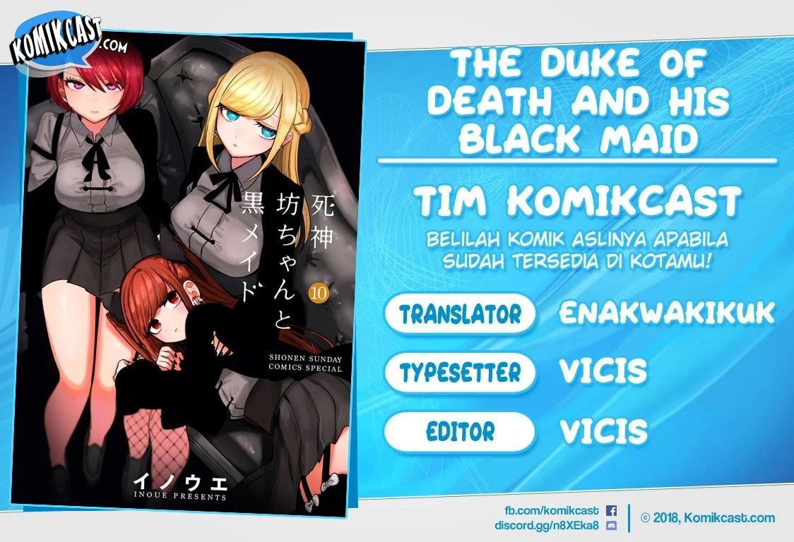 The Duke Of Death And His Black Maid Chapter 140
