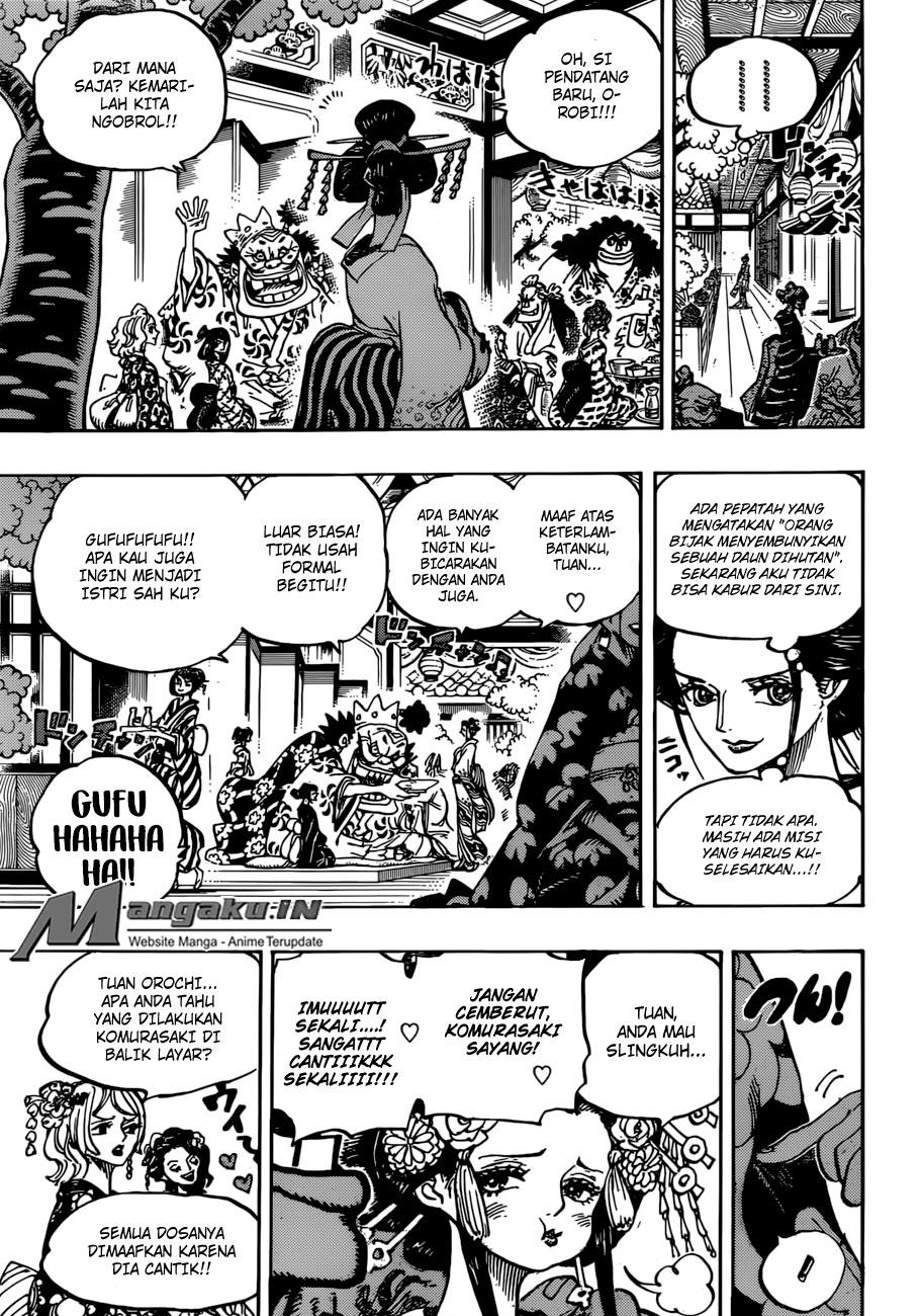 Baca One Piece Chapter 932 Bahasa Indonesia - Komik Station