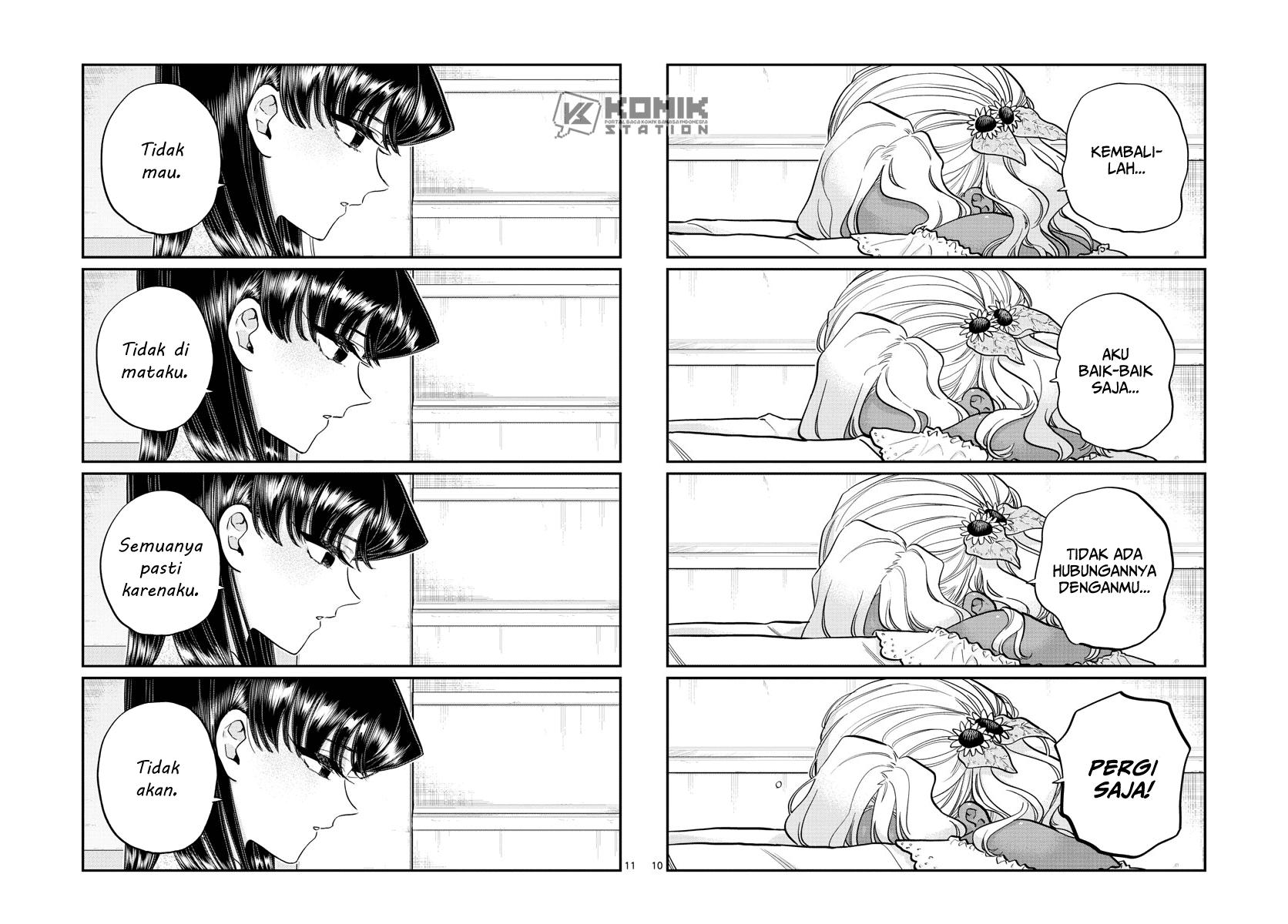 Komi-san Wa Komyushou Desu Chapter 226