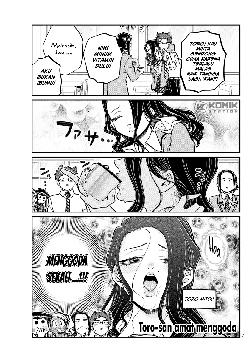 Komi-san Wa Komyushou Desu Chapter 240