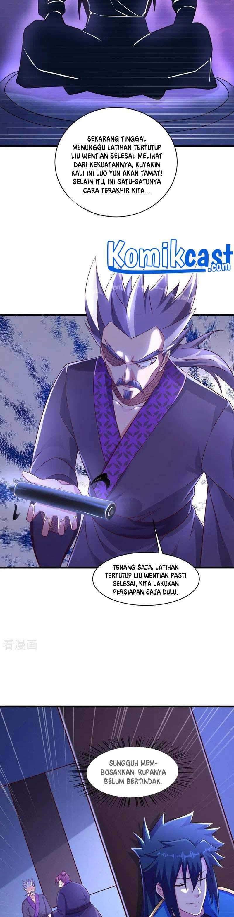 Spirit Sword Sovereign Chapter 436