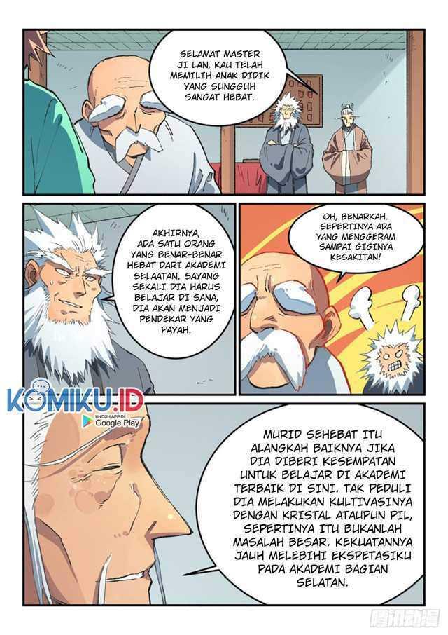 Star Martial God Technique Chapter 492