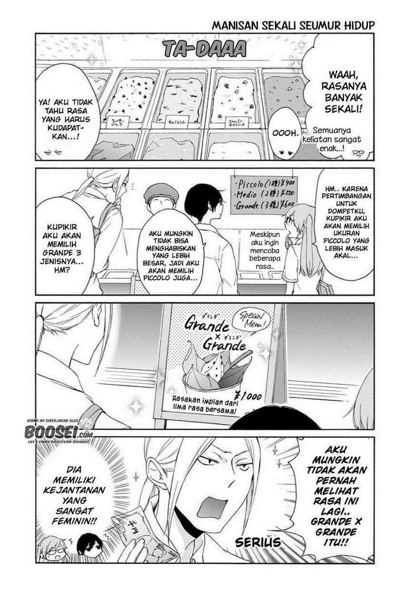 Tanaka-kun Wa Itsumo Kedaruge Chapter 49