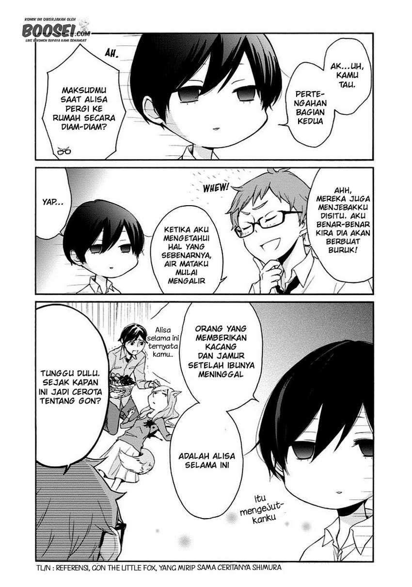 Tanaka-kun Wa Itsumo Kedaruge Chapter 51