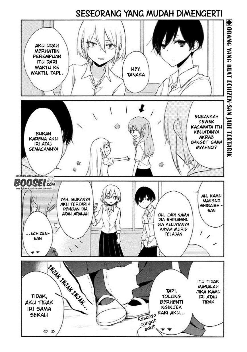 Tanaka-kun Wa Itsumo Kedaruge Chapter 52