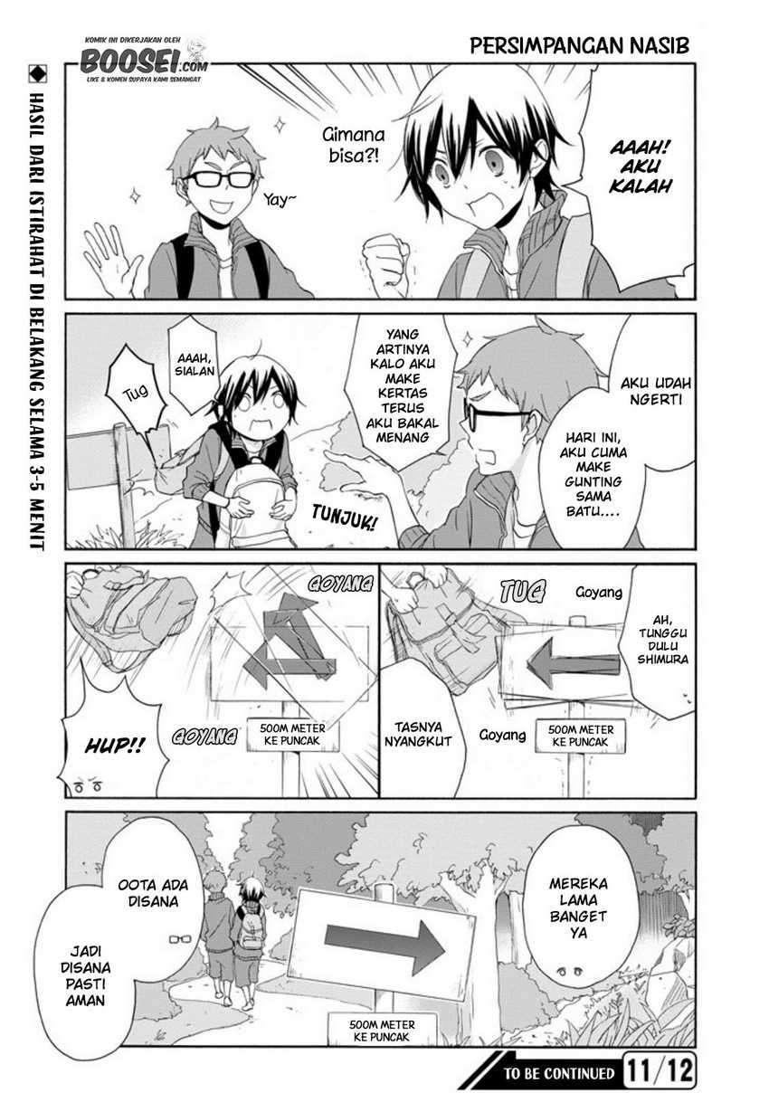 Tanaka-kun Wa Itsumo Kedaruge Chapter 54